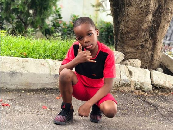 Wizkid's Son To Style Davido, Olamide, YCEE, Others – Blue